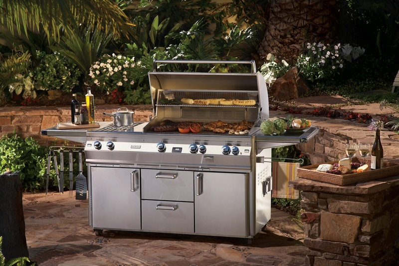Built in barbecue grills outdoor kitchen building and design for Built in bbq outdoor kitchen