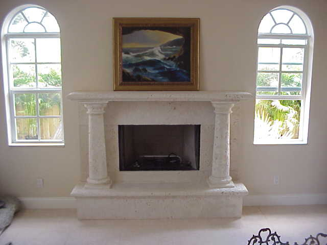 stone fireplace designs pictures. Coral Stone Fireplace with