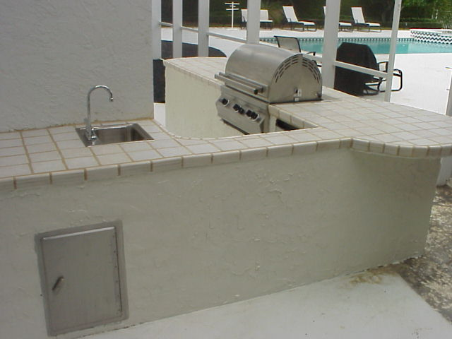 how to build a barbecue grill out of bricks