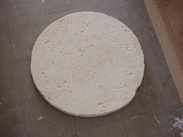 Stoneman Inc, round cast coral stone pavers