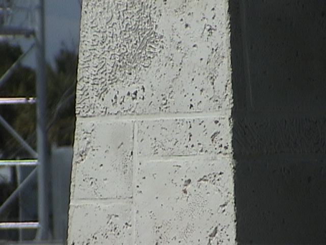 cast stone walls and wall cap